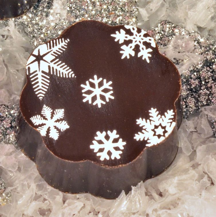 Snowflake Chocolates