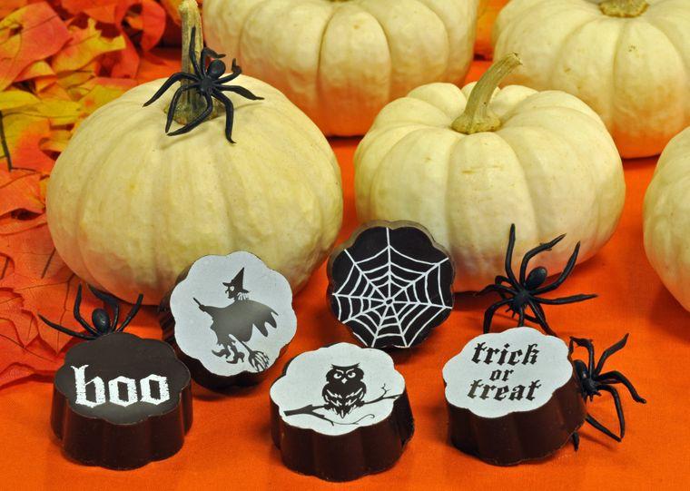 Spooky Halloween Chocolates