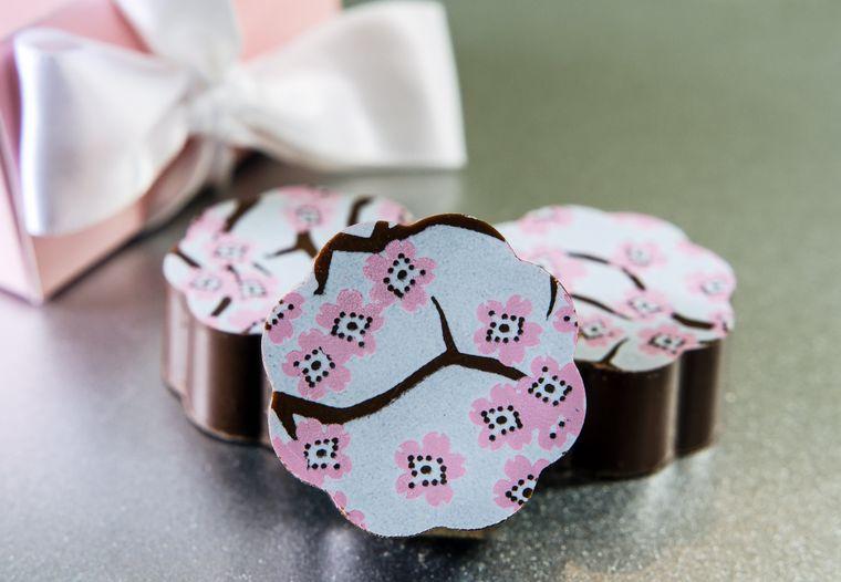 Cherry Blossom Chocolates