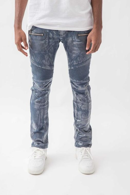 Glacier Biker Denim