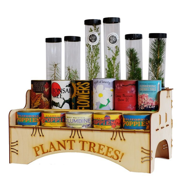 Three-Tier Countertop Display (Trees & Kits Not Included)