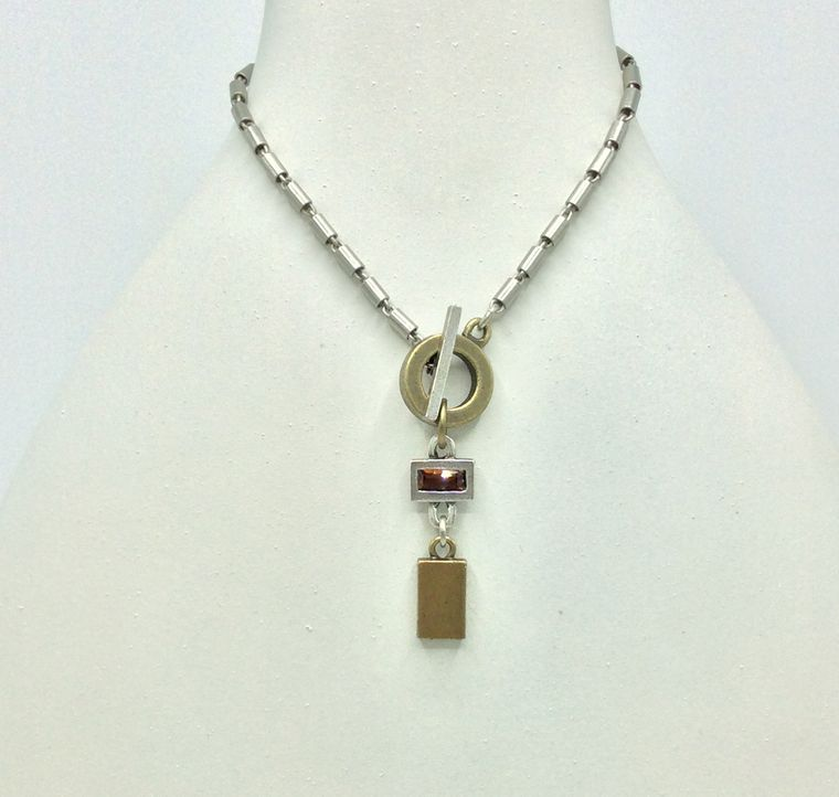 Alchemy Classic Toggle Necklace