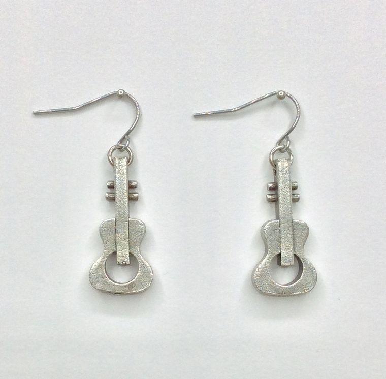 Guitar and Ukulele Earrings