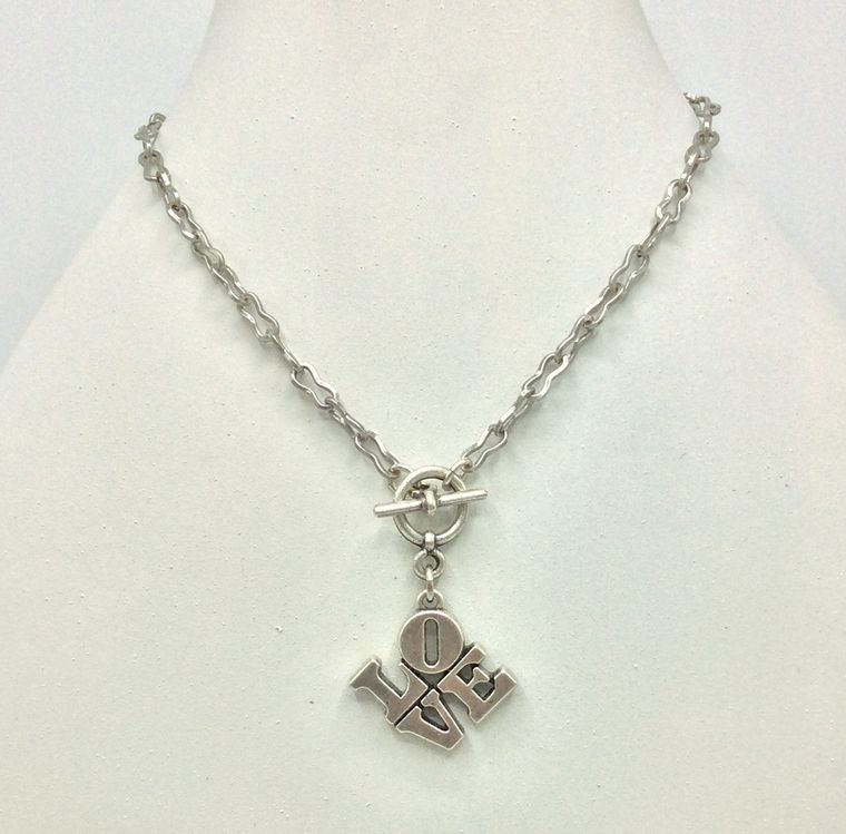 Love Toggle Necklace
