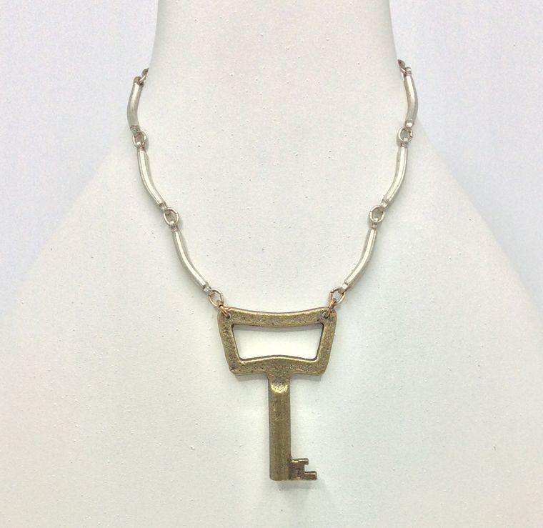 Keys of Old Necklace