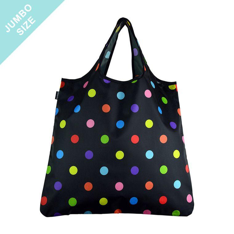 YaYbag JUMBO Stylish Reusable Bag - Left Hand Yellow