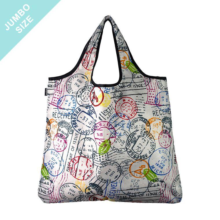 YaYbag JUMBO Stylish Reusable Bag - Par Avion