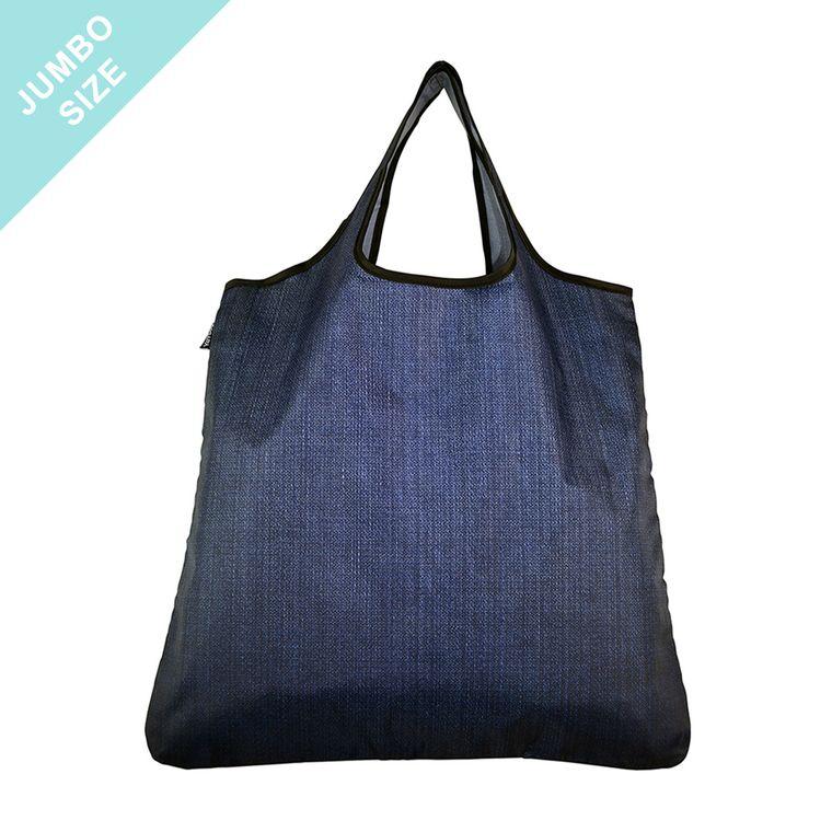 YaYbag JUMBO Stylish Reusable Bag - Blue Jean
