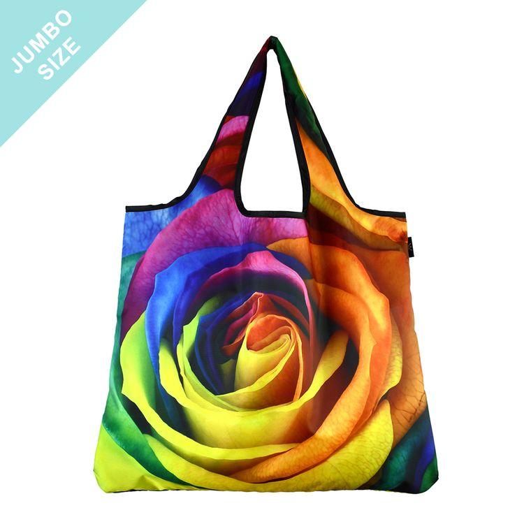 YaYbag JUMBO Stylish Reusable Bag - 50 Shades of Rose