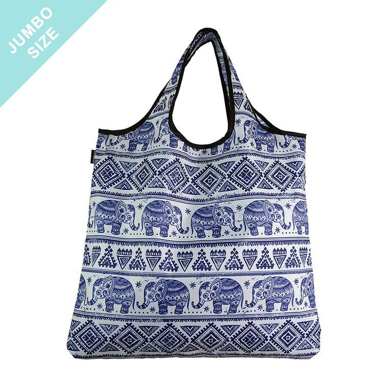 YaYbag JUMBO Stylish Reusable Bag - Sweet Elephant
