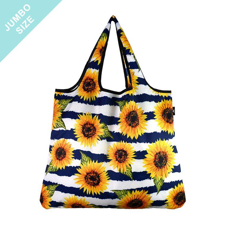 YaYbag JUMBO Stylish Reusable Bag - Sunflower