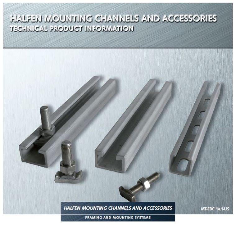 Halfen Industrial Mounting Channel