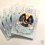 Winter Solstice Card - BOX of 8 holiday cards, yuletide xmas
