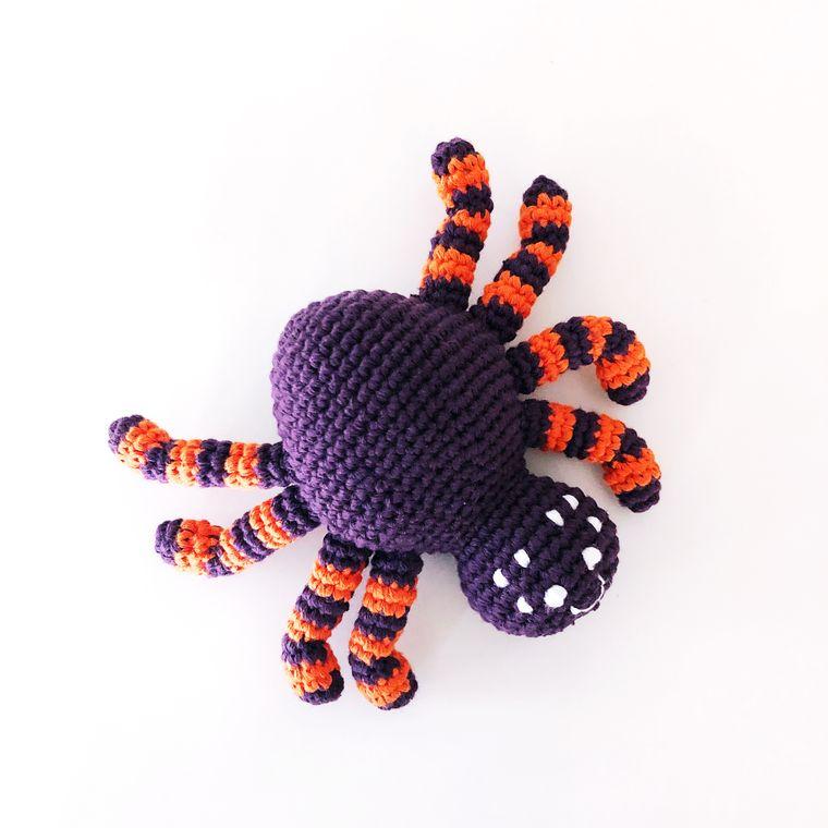 Spider Rattle - Purple