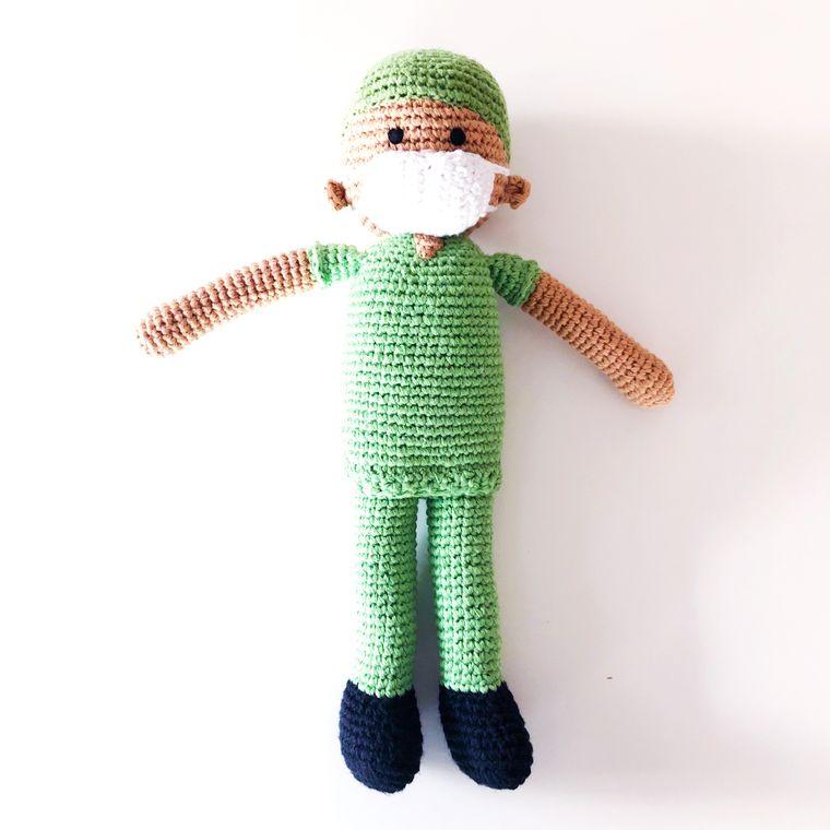 Nurse - Green Scrubs