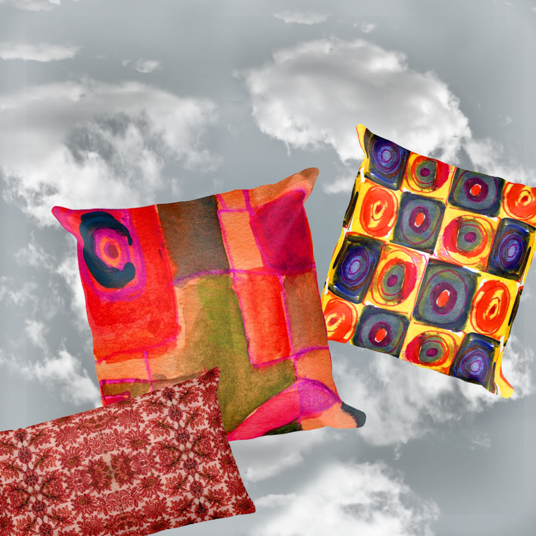 Paris METRO Couture: Original Design Pillow Collection