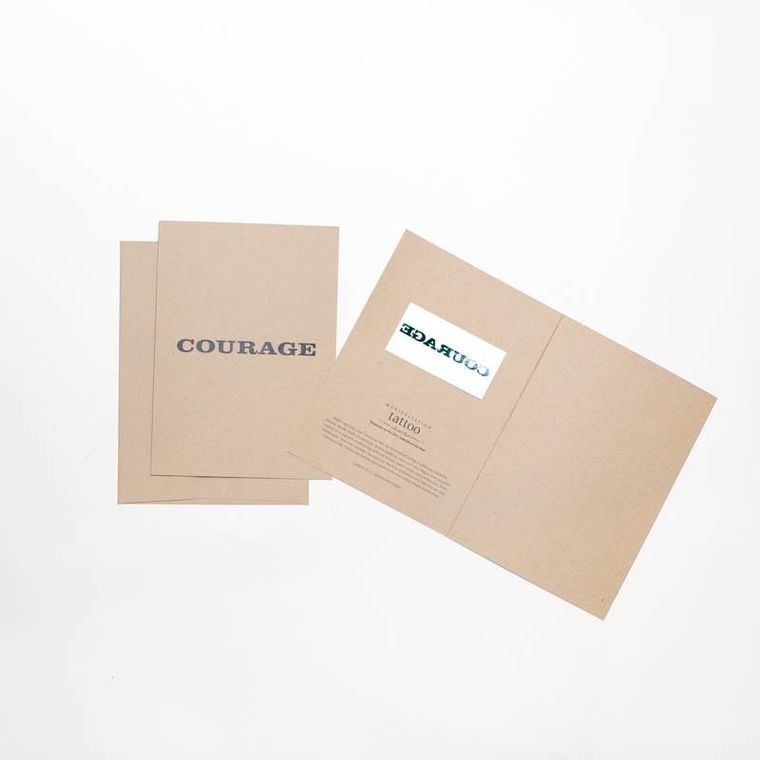 """Courage"" Manifestation Greeting Card"