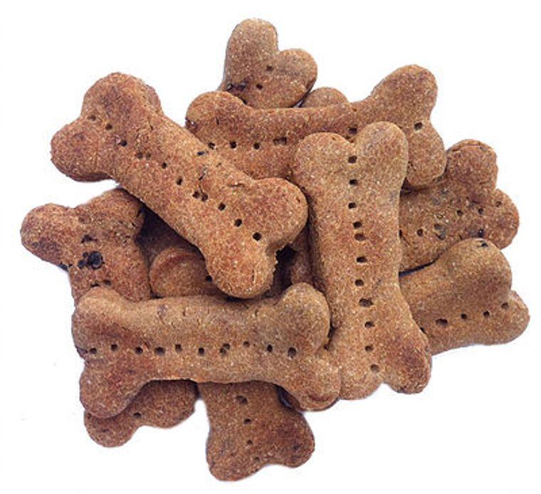 Peanut Butter Carob Chip Gluten Free Dog Treats