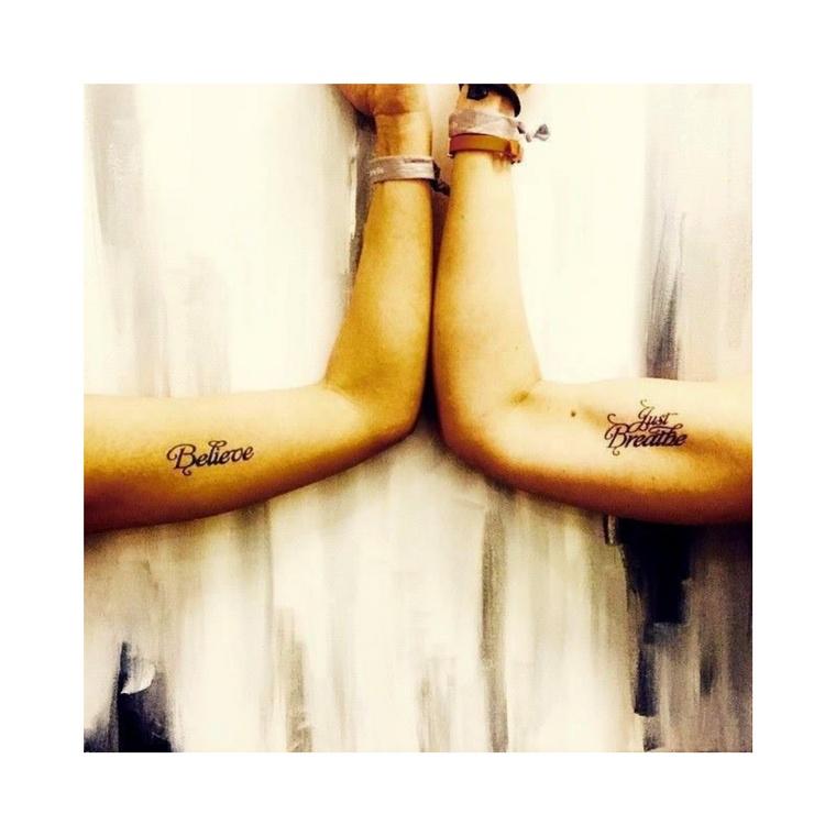 """Believe"" Manifestation Tattoo 2-Pack"