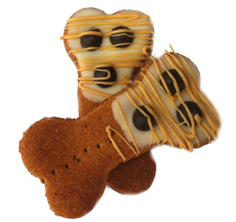 Peanut Butter Delites Dog Treats Gift Bag