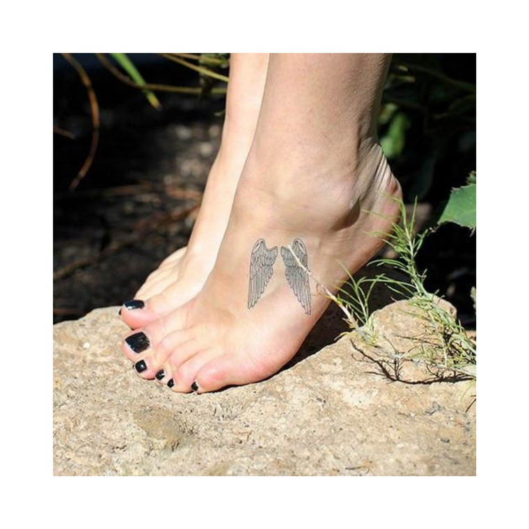 """Wings"" Manifestation Tattoo 2-Pack"