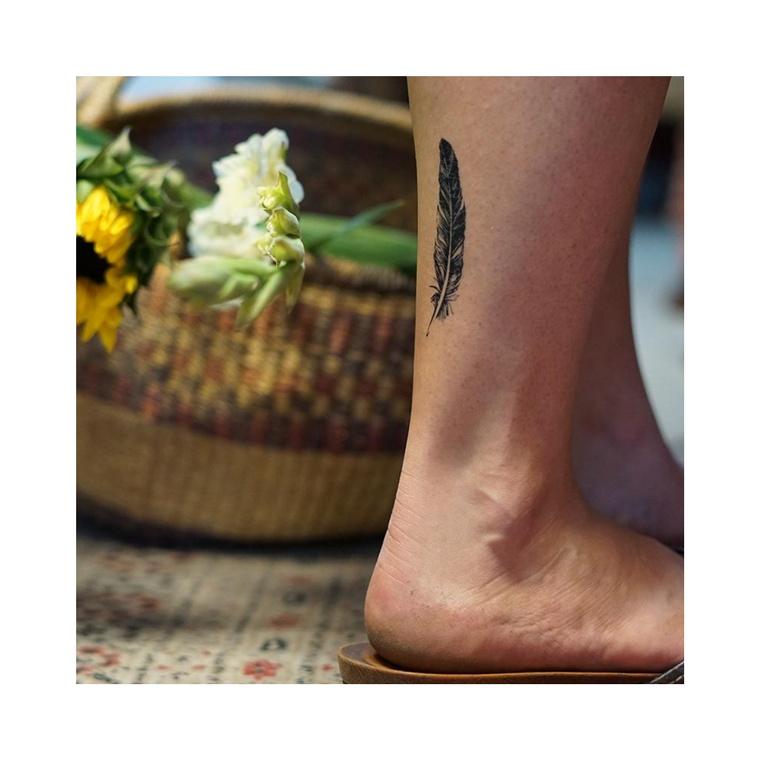 """Feather"" Manifestation Tattoo 2-Pack"