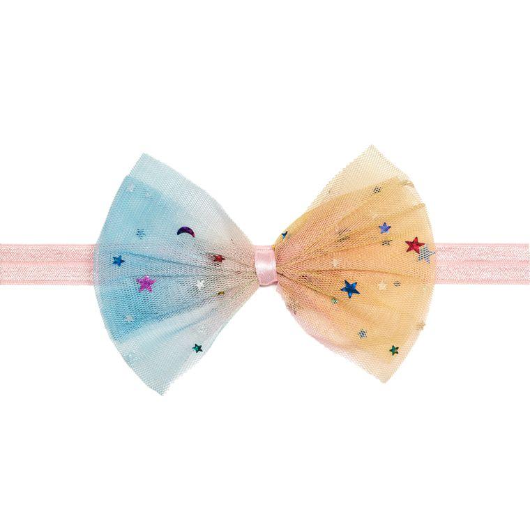 Unicorn Rainbow Bow Soft Headband