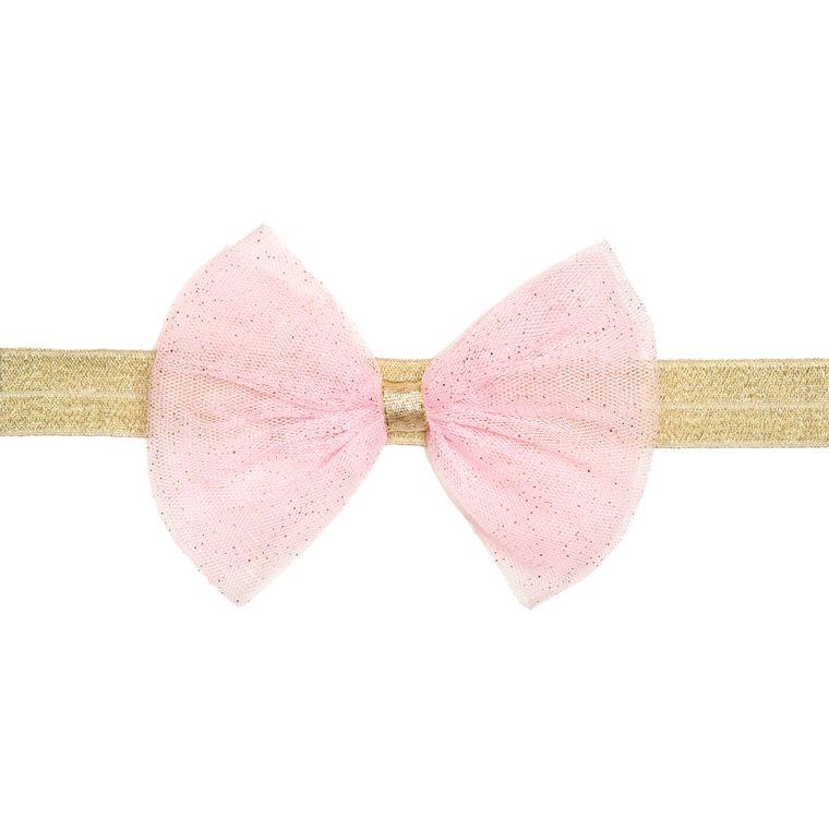 Light Pink Bow Soft Headband