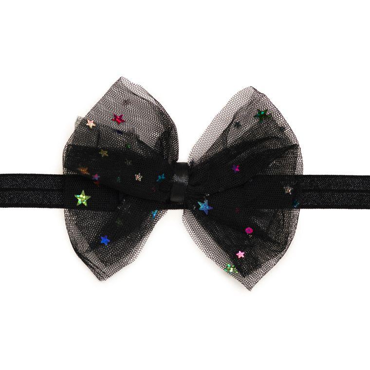 Starry Night Bow Soft Headband