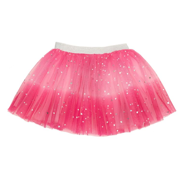 Pink Ombre Heart Tutu - 2T-6Y