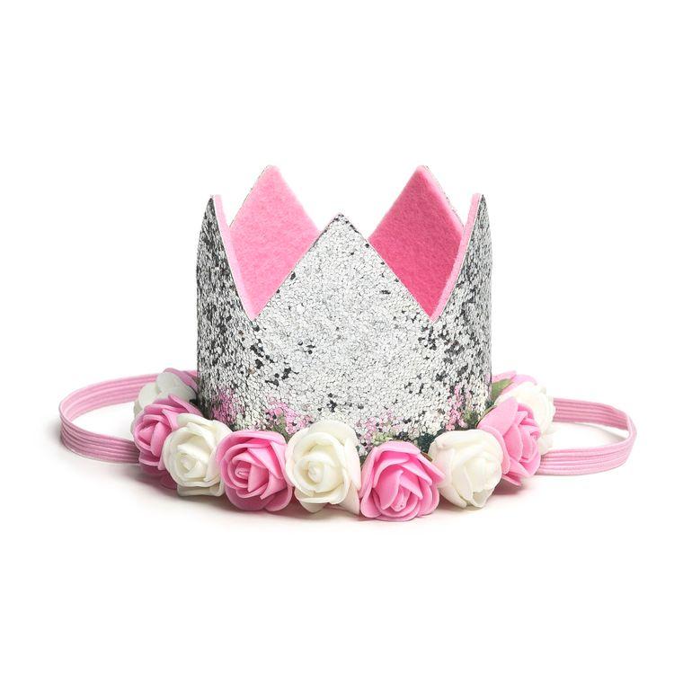 Silver Flower Crown