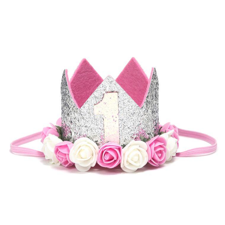 Silver #1 Flower Crown