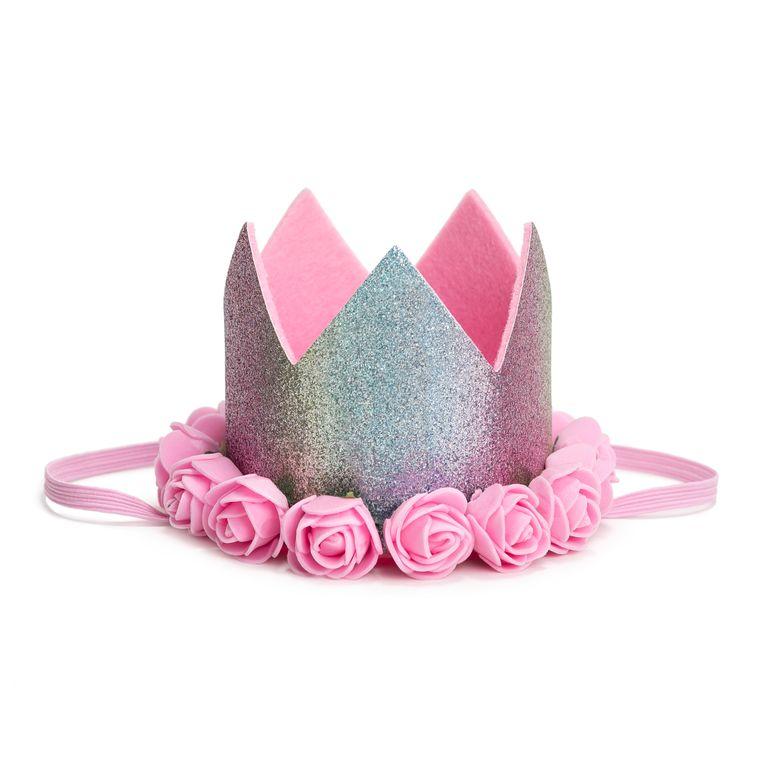 Rainbow Dust Flower Crown