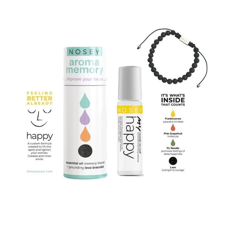 BEST SELLER - Aroma Memory Wellness Kit - Happy