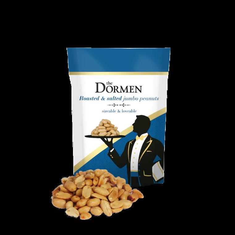 The Dormen Jumbo Salted Peanuts, 24 x 50g