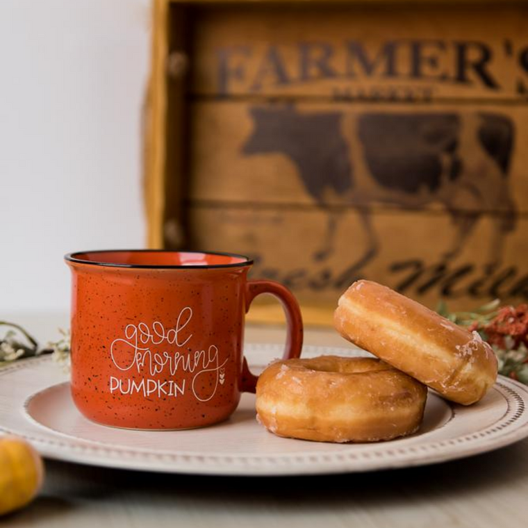 GOOD MORNING PUMPKIN | CAMPFIRE COFFEE MUG