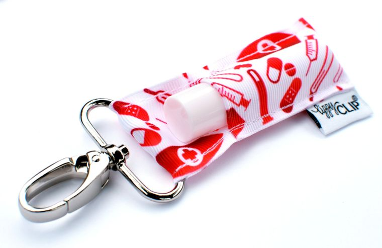 Love A Nurse LippyClip Lip Balm Holder