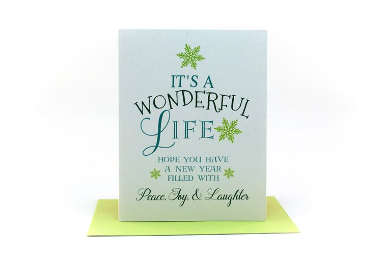 it's a wonderful life | hope you have a new year filled with peace, joy & laughter