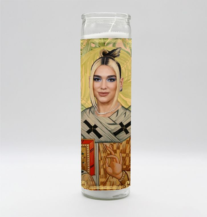 Dua Lipa Candle