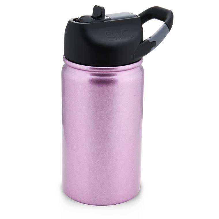 12 Oz. lil SIC Pink Glitter Bottle