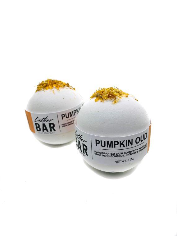 Pumpkin Oud Bath Bomb