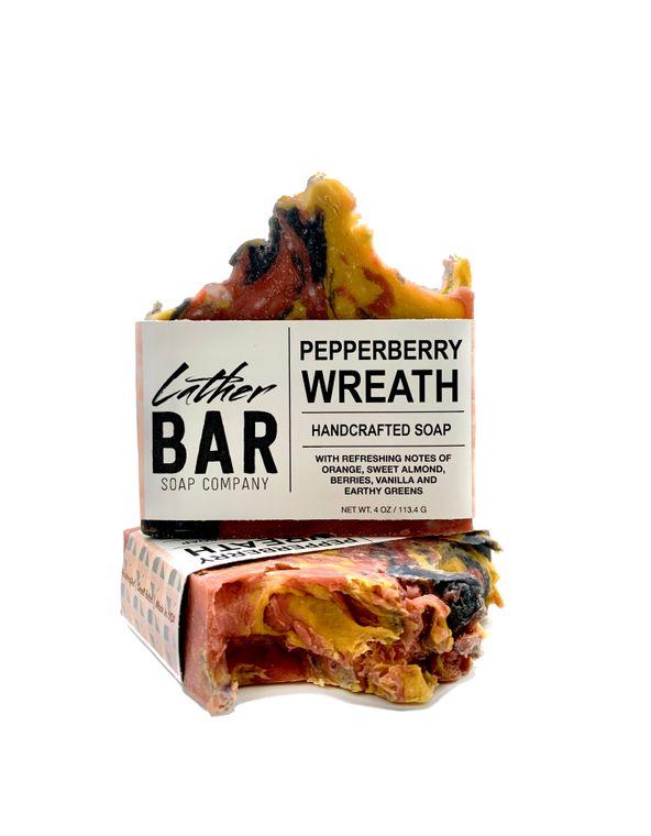 Pepperberry Wreath Soap