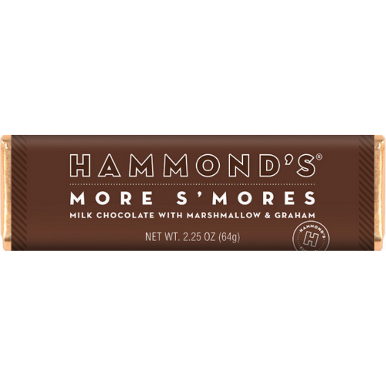 More S'mores Milk Chocolate Candy Bar  2.25oz
