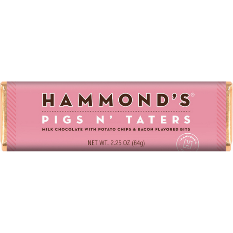 Pigs N' Taters Milk Chocolate Candy Bar 2.25oz