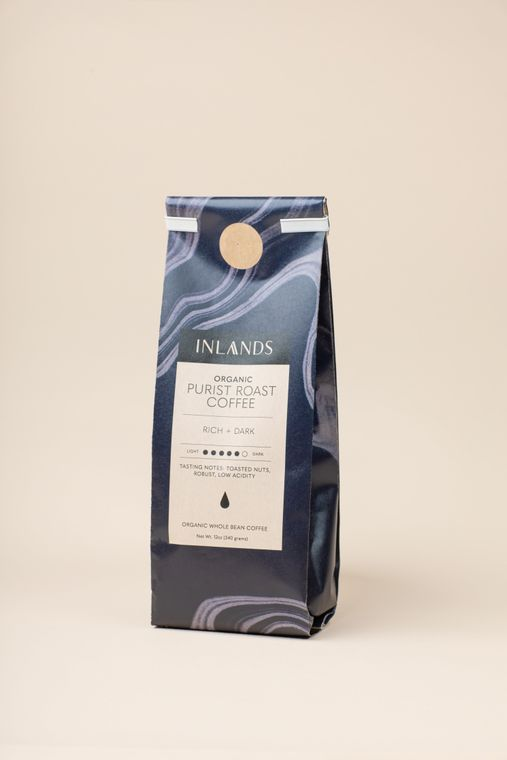 Purist Dark Roast Coffee - Whole Bean
