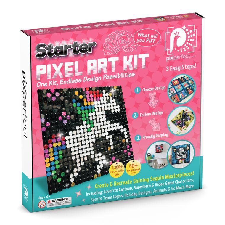 Starter Pixel Art Kit (8 Colors)