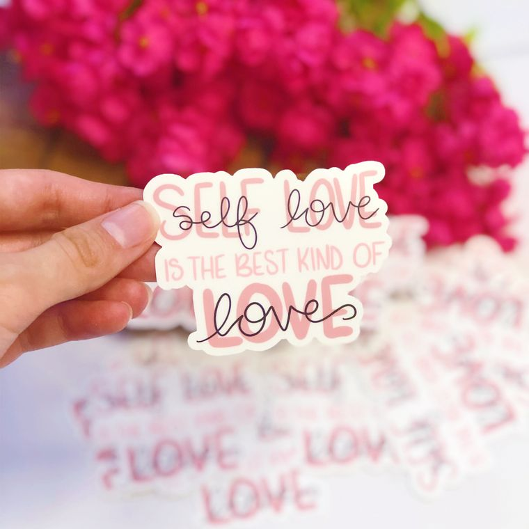 Self Love is the Best Kind of Love Vinyl Sticker