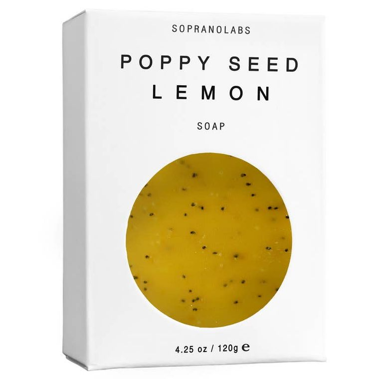 POPPY SEED LEMON Vegan Soap
