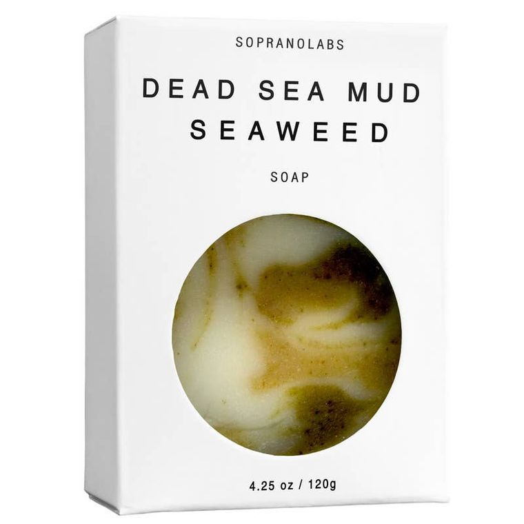 Dead Sea Mud Seaweed Vegan Soap