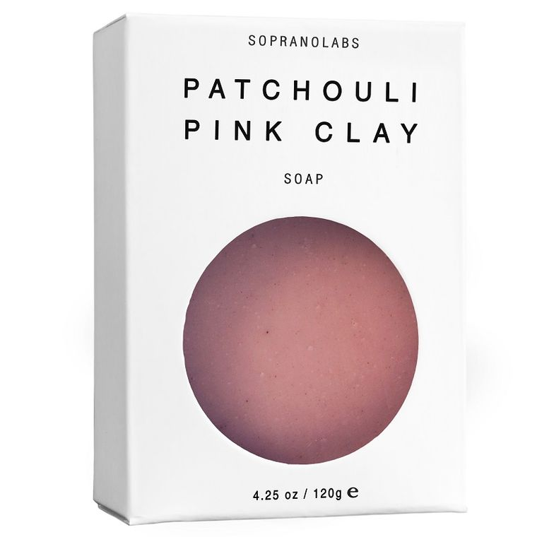 PATCHOULI Pink Clay Vegan Soap